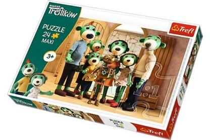 Trefl 14254 - A Treflikow család kalandjai - Csoportkép - 24 db-os Maxi puzzle