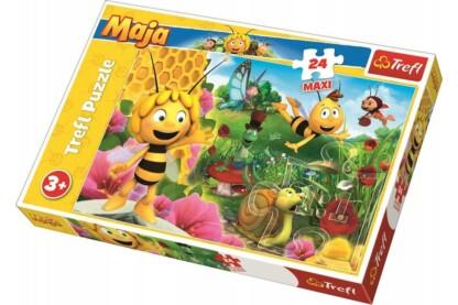 Trefl 14297 - Maja, a méhecske - 24 db-os Maxi puzzle
