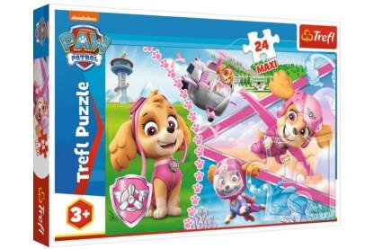 Trefl 14307 - Mancs őrjárat - Skye, a hős - 24 db-os Maxi puzzle