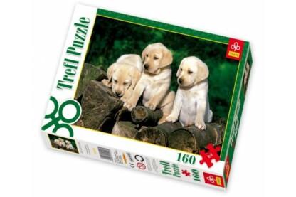 Trefl 15157 - Labrador kölykök - 160 db-os puzzle