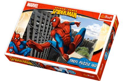 Trefl 15221 - Pókember a város felett - 160 db-os puzzle