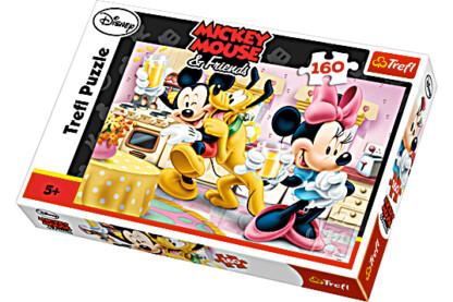 Trefl 15237 - Mickey egér és barátai - Mókás délután - 160 db-os puzzle