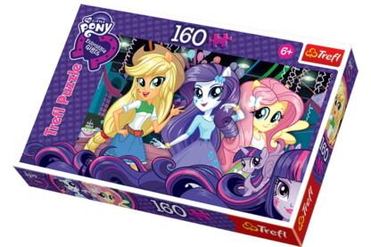 Trefl 15311 - My Little Pony - Equestria girls - 160 db-os puzzle
