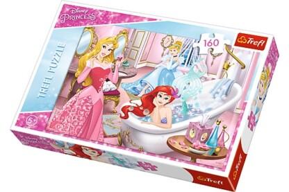 Trefl 15327 - Disney Princess - Pihenés a bál előtt - 160 db-os puzzle