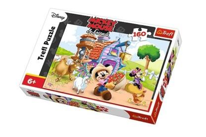 Trefl 15337 - Mickey Mouse és barátai - Farmer Miki - 160 db-os puzzle