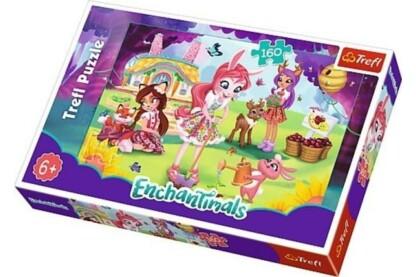 Trefl 15361 - Enchantimals - Kertészkedés - 160 db-os puzzle