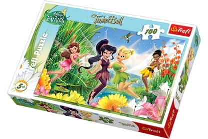 Trefl 16159 - Vidám tündérek - 100 db-os puzzle