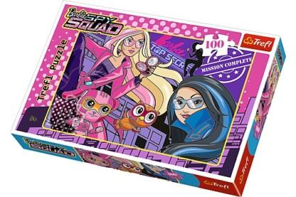 Trefl 16292 - Titkos ügynök Barbie és a kém csapat - 100 db-os puzzle