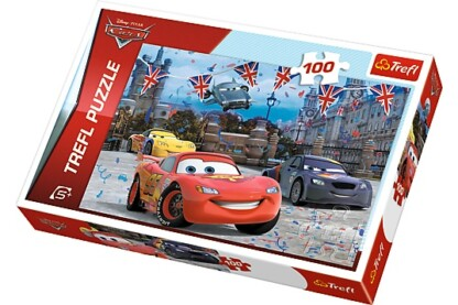 Trefl 16295 - Verdák 2. - Londoni futam - 100 db-os puzzle