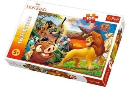 Trefl 16359 - Az oroszlánkirály - 100 db-os puzzle