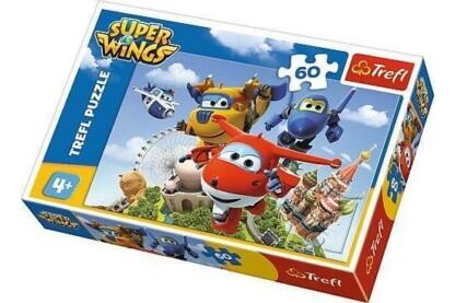 Trefl 17307 - Super Wings - 60 db-os puzzle