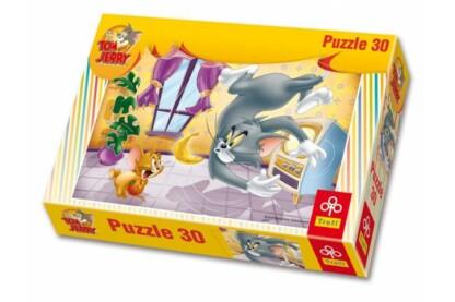 Trefl 18150 - Tom & Jerry - Gyümölcs küzdelem - 30 db-os puzzle