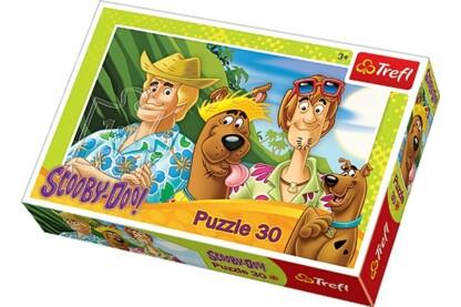 Trefl 18197 - Scooby-Doo vakáción - 30 db-os puzzle