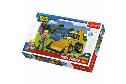 Trefl 18214 - Bob, a mester - Új kihívás - 30 db-os puzzle