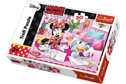 Trefl 18217 - Minnie Mouse - Legjobb barátok - 30 db-os puzzle