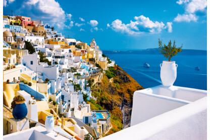 Trefl 26119 - Santorini, Görögország - 1500 db-os puzzle