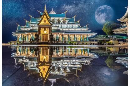 Trefl 26141 - Wat Pa Phu Kon, Thaiföld - 1500 db-os puzzle