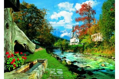 Trefl 27061 - Bavaria Alpok, Németország - 1500 db-os puzzle