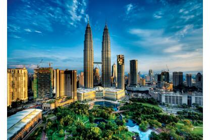 Trefl 27075 - Petronas ikertorony, Malajzia - 1500 db-os puzzle