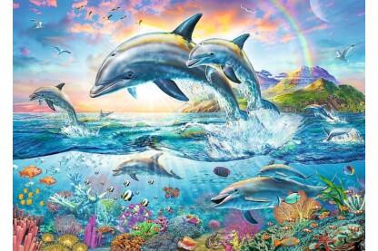 Trefl 27087 - Vidám delfinek - 2000 db-os puzzle