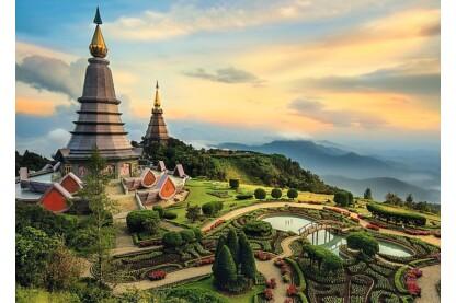 Trefl 27088 - Chiang Mai, Thaiföld - 2000 db-os puzzle