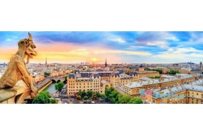 Trefl 29029 - Panoráma puzzle - Párizsi látkép - 1000 db-os puzzle