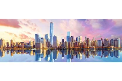 Trefl 29033 - Panoráma puzzle - Manhattan - 1000 db-os puzzle