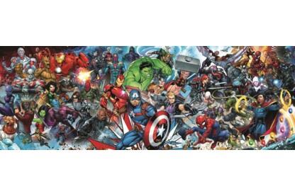 Trefl 29047 - Panoráma puzzle - Marvel univerzum - 1000 db-os puzzle