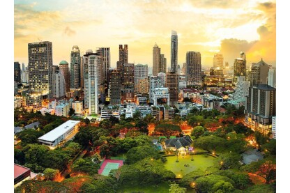 Trefl 33060 - Naplemente Bangkokban - 3000 db-os puzzle