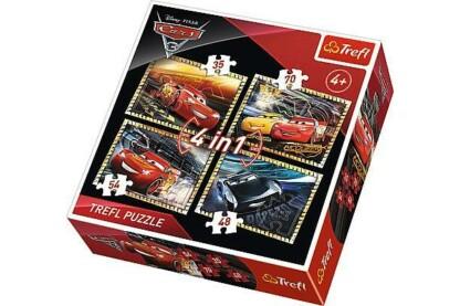 Trefl 34276 - Verdák 3 - 4 az 1-ben (35, 48, 54, 70 db-os) puzzle