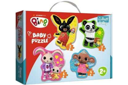 Trefl 36085 - Bing és barátai - Első Baby puzzle táskában