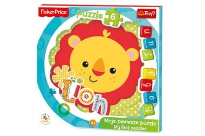 Trefl 36120 - Oroszlán - 6 db-os Baby Fun Első puzzle