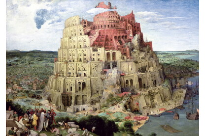 Trefl 45001 - A bábeli torony - 4000 db-os puzzle