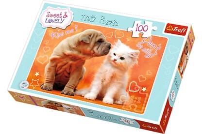Trefl 16264 - Puszi - 100 db-os puzzle