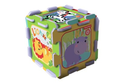 Trefl 60399 - Fisher-Price Dzsungel móka - 8 db-os Szivacs puzzle