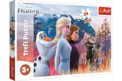Trefl 14298 - Jégvarázs 2 - Varázslatos utazás - 24 db-os Maxi puzzle
