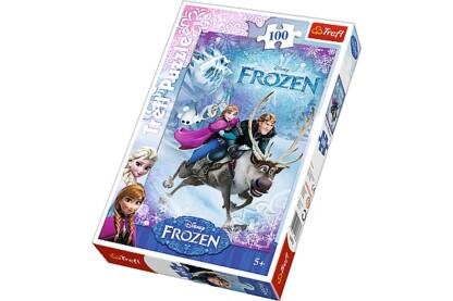 Trefl 16273 - Jégvarázs - Anna megmentése - 100 db-os puzzle