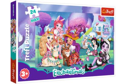 Trefl 14315 - Enchantimals - 24 db-os Maxi puzzle