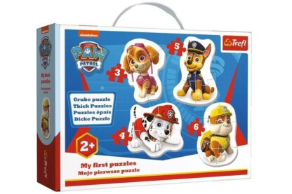 Trefl 36087 - Mancs őrjárat - Első Baby puzzle táskában