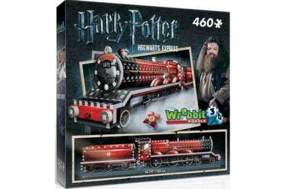 Wrebbit 01009 - Harry Potter - Roxfort Expressz - 460 db-os 3D puzzle