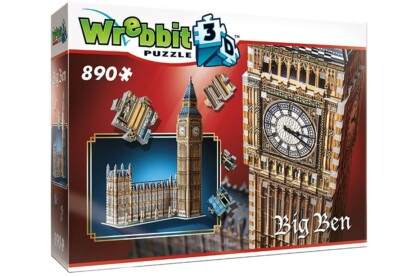 Wrebbit 02002 - Big Ben - 890 db-os 3D puzzle