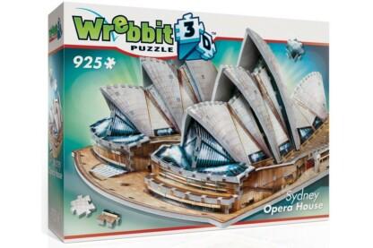 Wrebbit 02006 - Sidney-i Operaház - 925 db-os 3D puzzle
