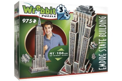 Wrebbit 02007 - Empire State Building - 975 db-os 3D puzzle