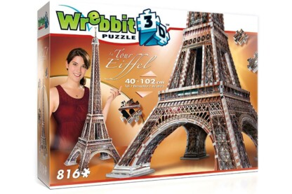 Wrebbit 02009 - Eiffel-torony - 816 db-os 3D puzzle