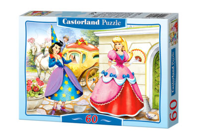 Castorland B-06540 - Hamupipőke - 60 db-os puzzle