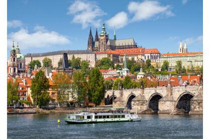 Castorland C-102426 - Prága, Cseh Köztársaság - 1000 db-os puzzle
