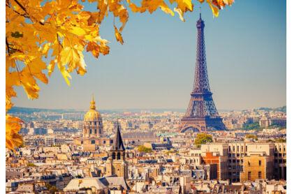 Castorland C-103089 - Ősz Párizsban - 1000 db-os puzzle