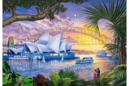 Castorland C-151295 - Sydney Operaház - 1500 db-os puzzle