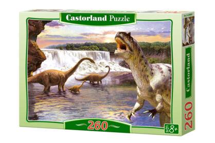 Castorland B-26999 - Diplodocus - 260 db-os puzzle