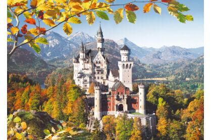 Castorland C-300013 - Kilátás a Neuschwanstein kastélyra - 3000 db-os puzzle